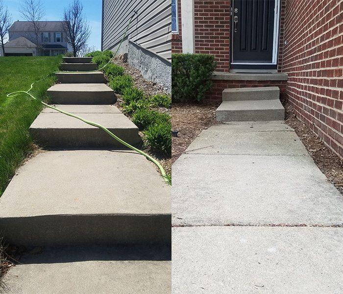 Concrete Leveling Hartland Twp MI